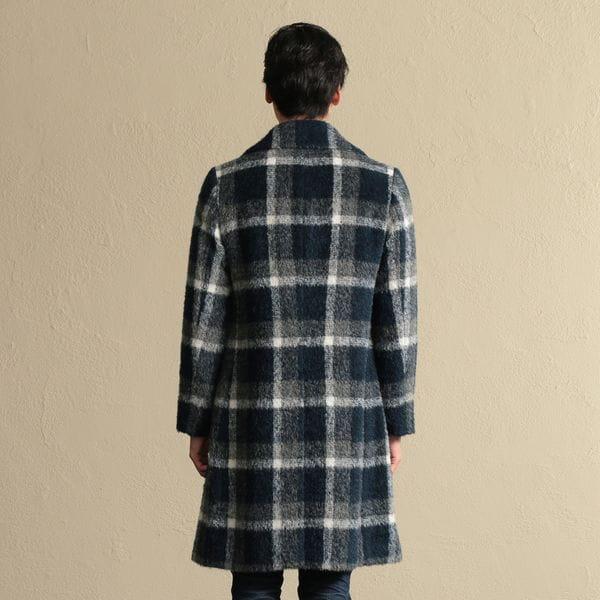【PRIMA COLLECTION】ウールチェックコート