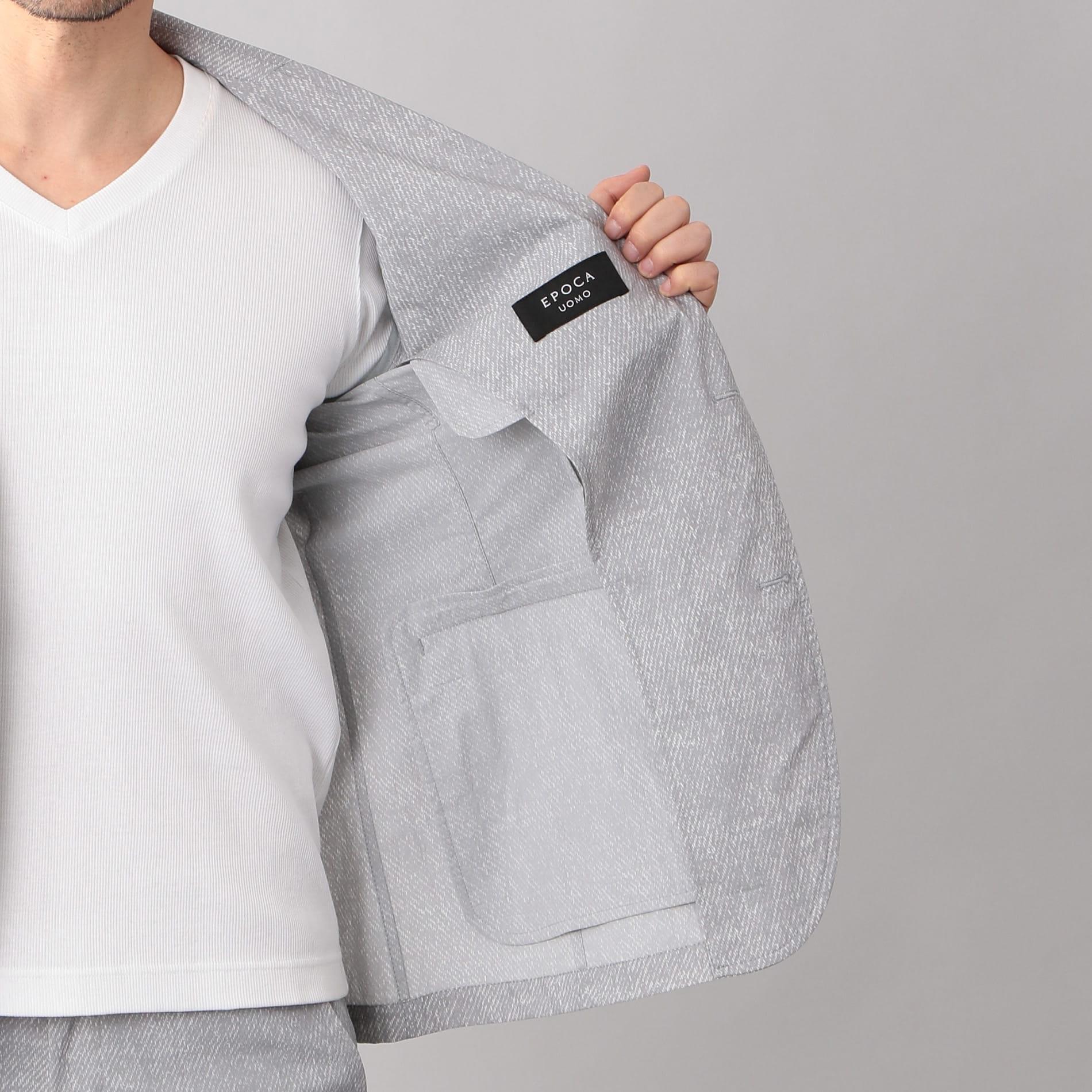 ハイパワーストレッチプリント ジャケット