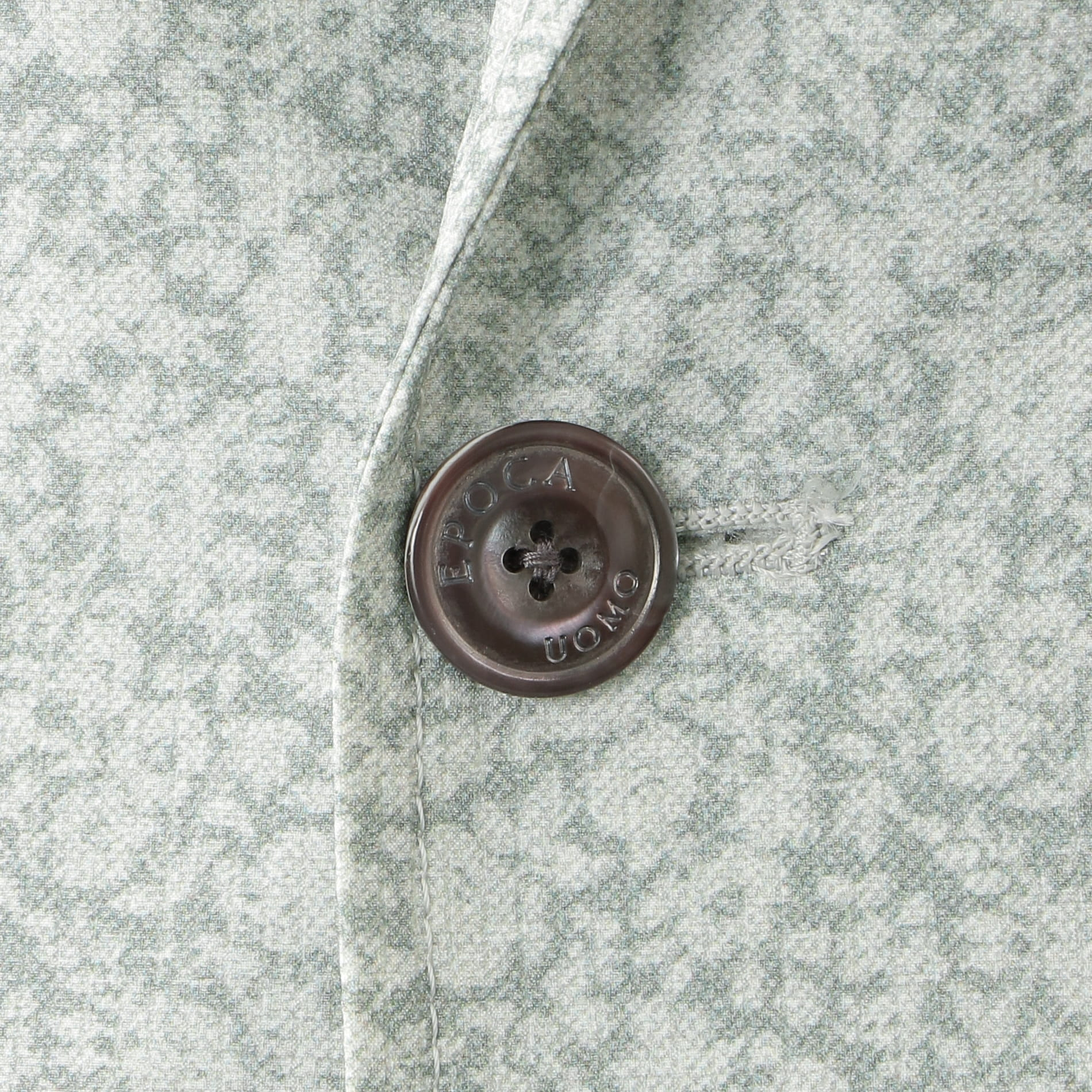 クールドッツフラワープリントジャケット