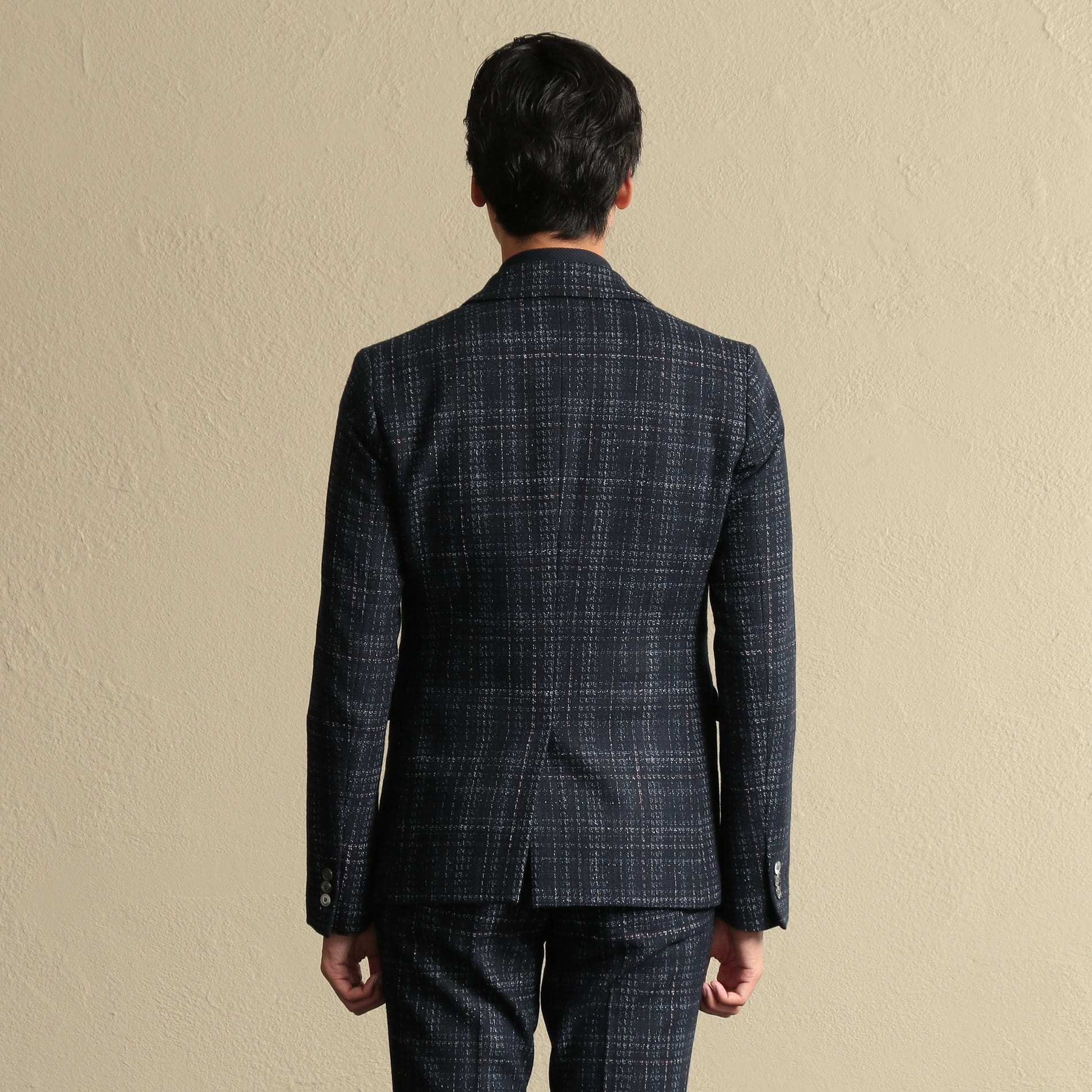 【PRIMA COLLECTION】FORTEXチェックジャケット