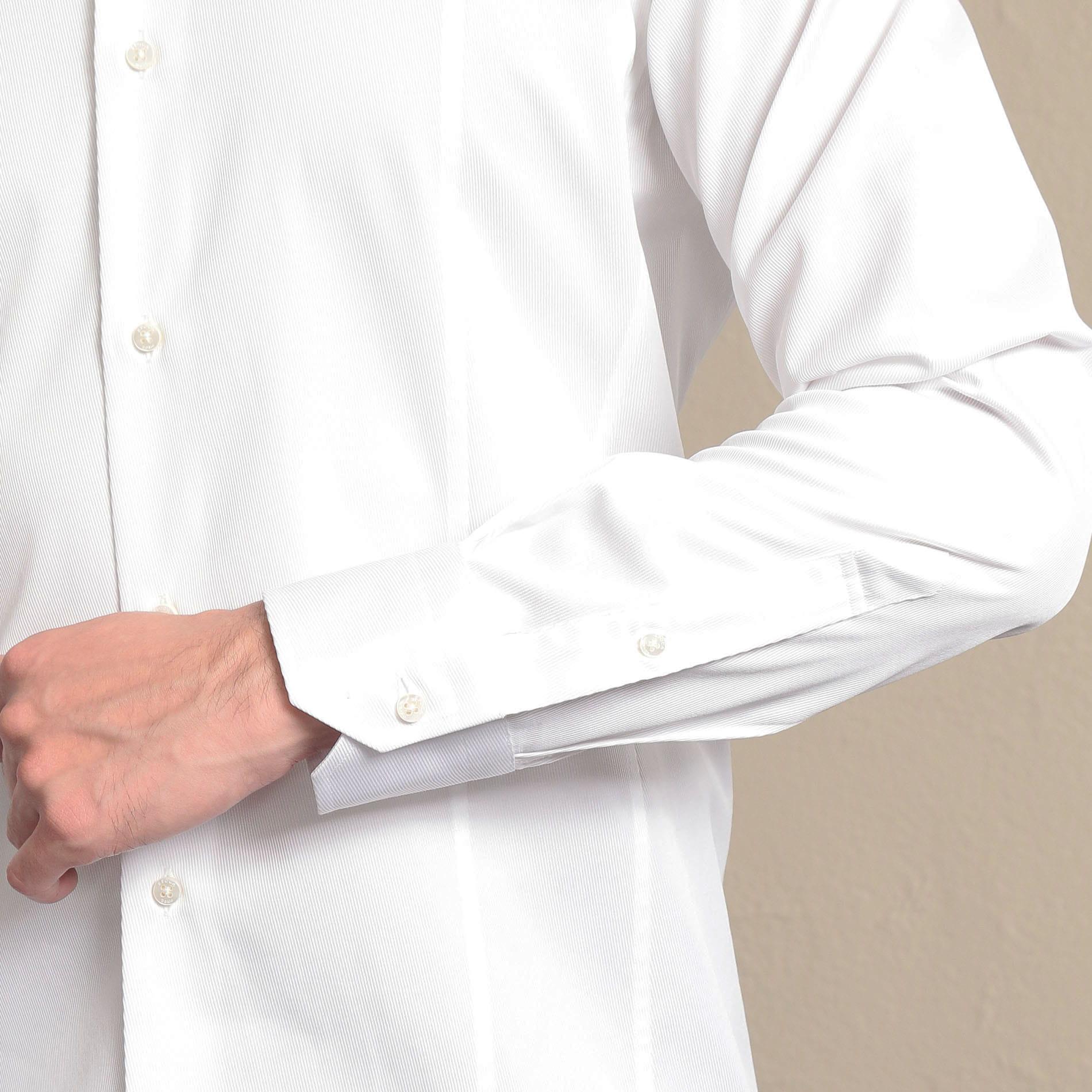 【ALBINI】セミワイドカラーシャツ
