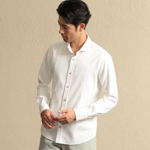 ホリゾンタルカラーストレッチドビーシャツ