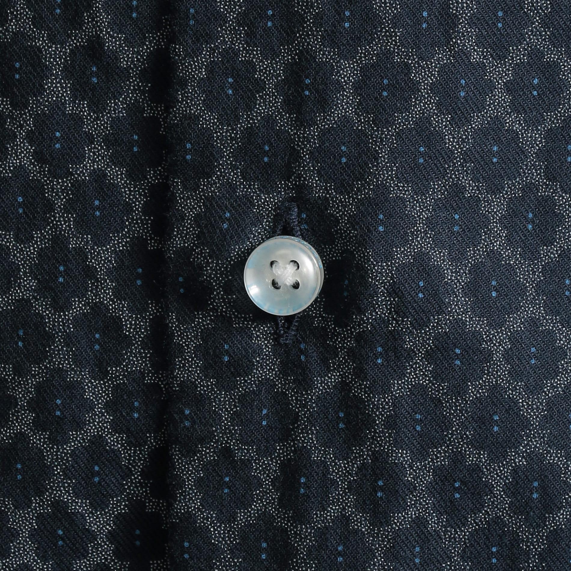【PRIMA COLLECTION】ジオメトリックプリントシャツ