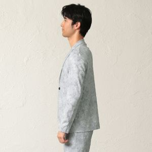 【PRIMA COLLECTION】フラワーパイルジャケット
