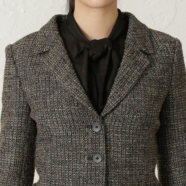 【24 TWENTY FOUR JACKET Tweed】テーラードジャケット