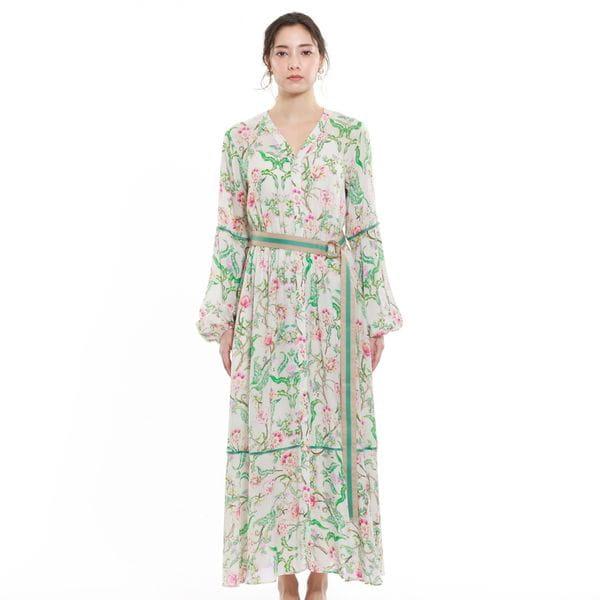 フィオーレプリントドレス