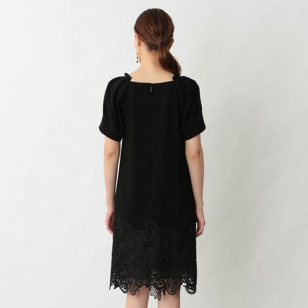 ケミカルレースドレス