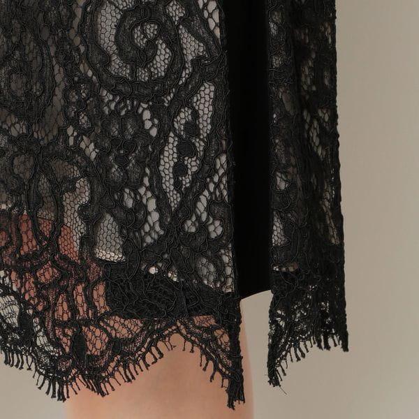 コードリバーレースドレス