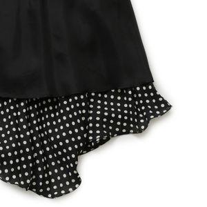ポルカドットドレス