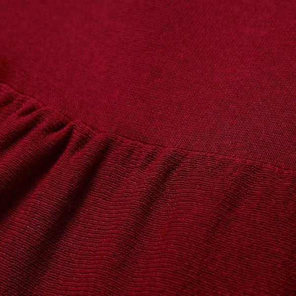 【LA MAGLIA IN CASA】バックティアードデザインドレス