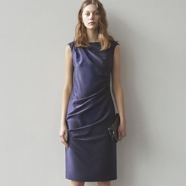 シャインタフタ ドレス