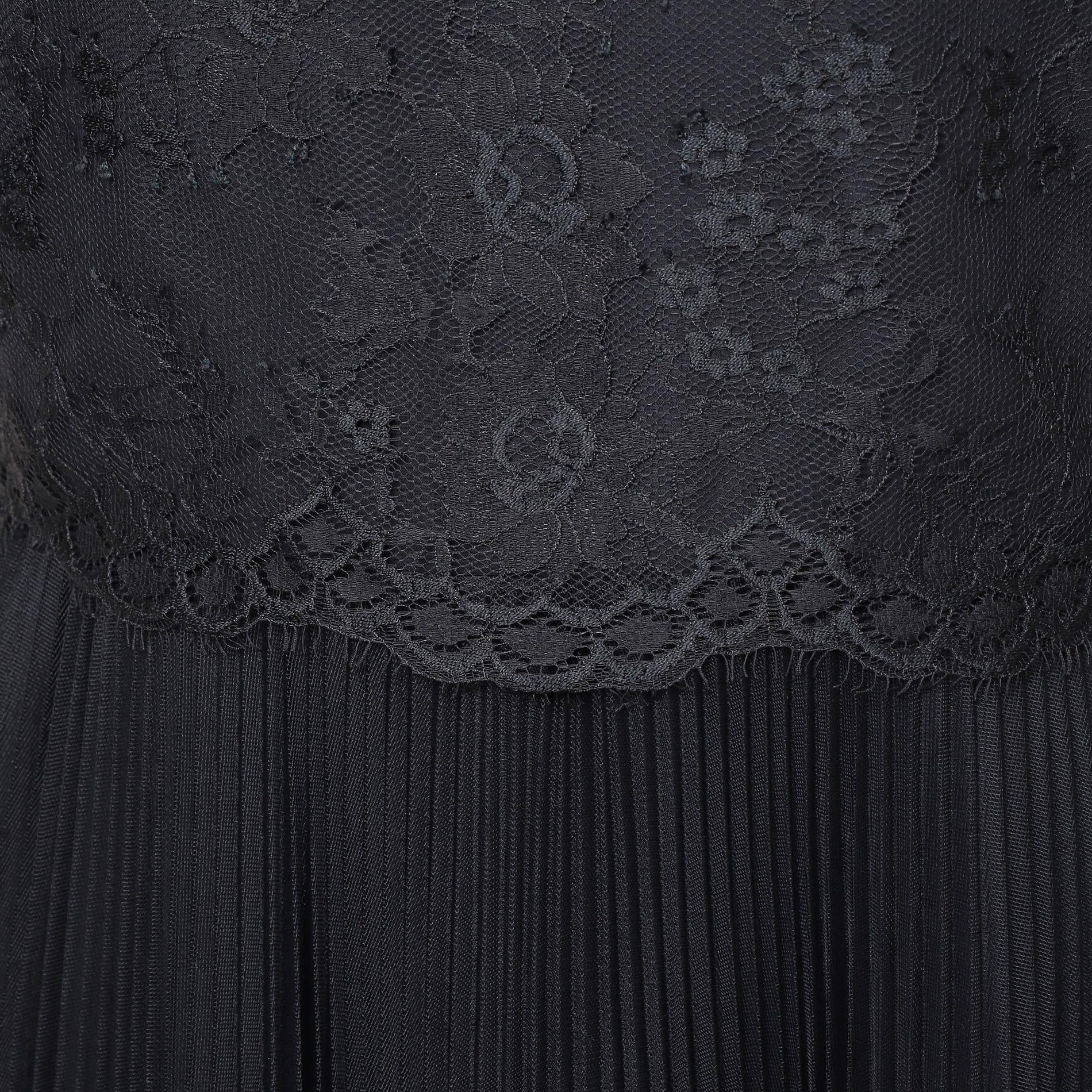 チュールフラワーレース ドレス