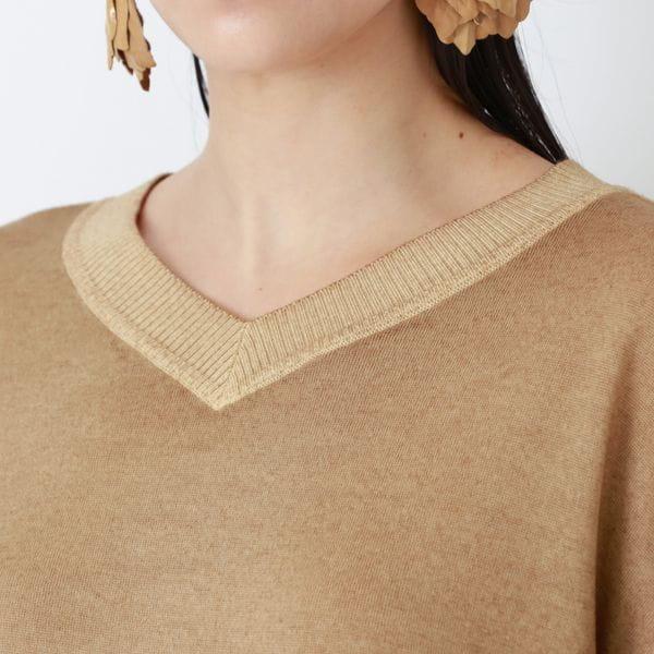 【La maglia】Vネックプルオーバー