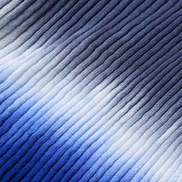 ◆◆コットンナイロン グラデーション リブニットカーディガン