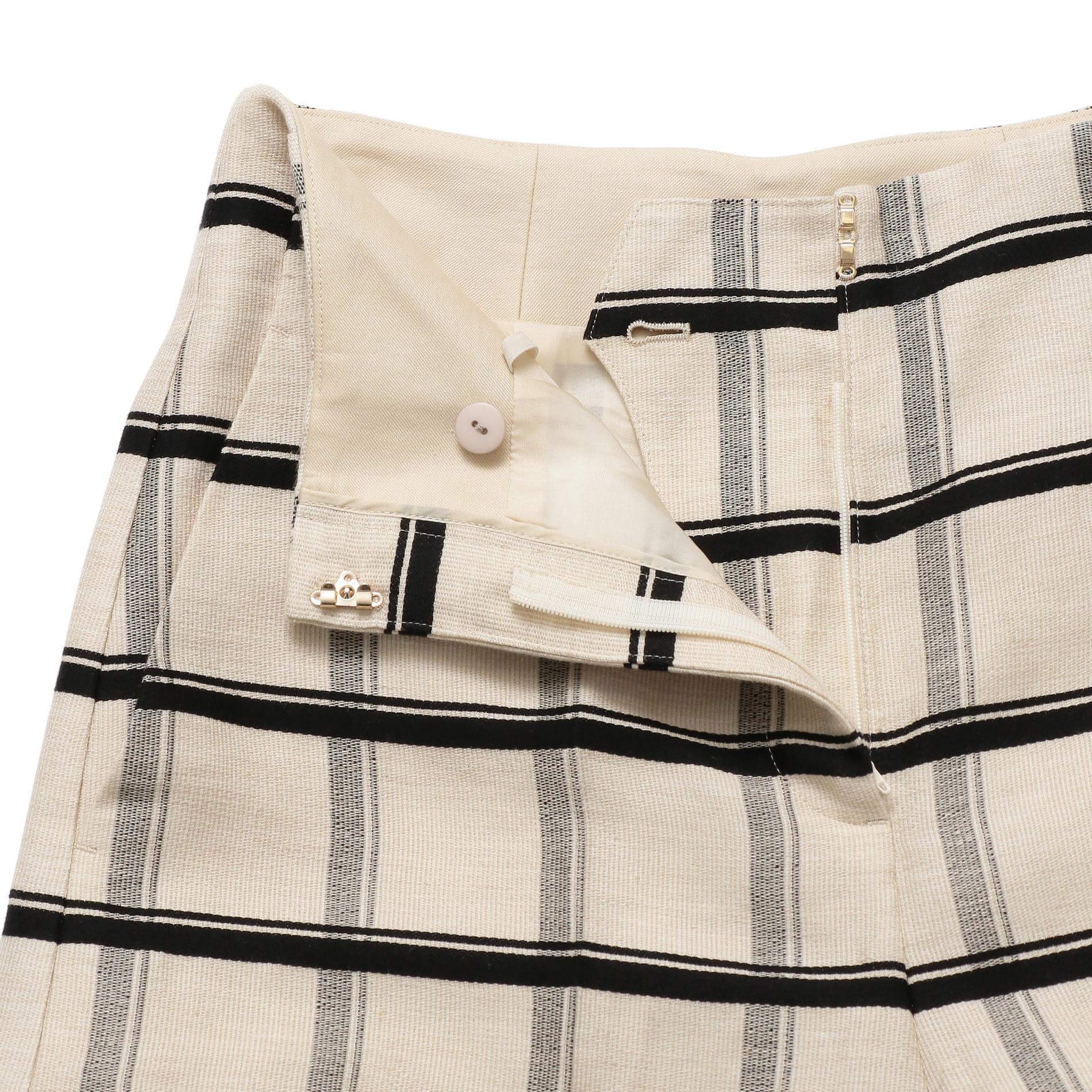 *Marisol5月号掲載*マテリアルボーダー スカート