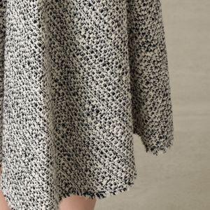 【セットアップ】スラブツイードドレープスカート
