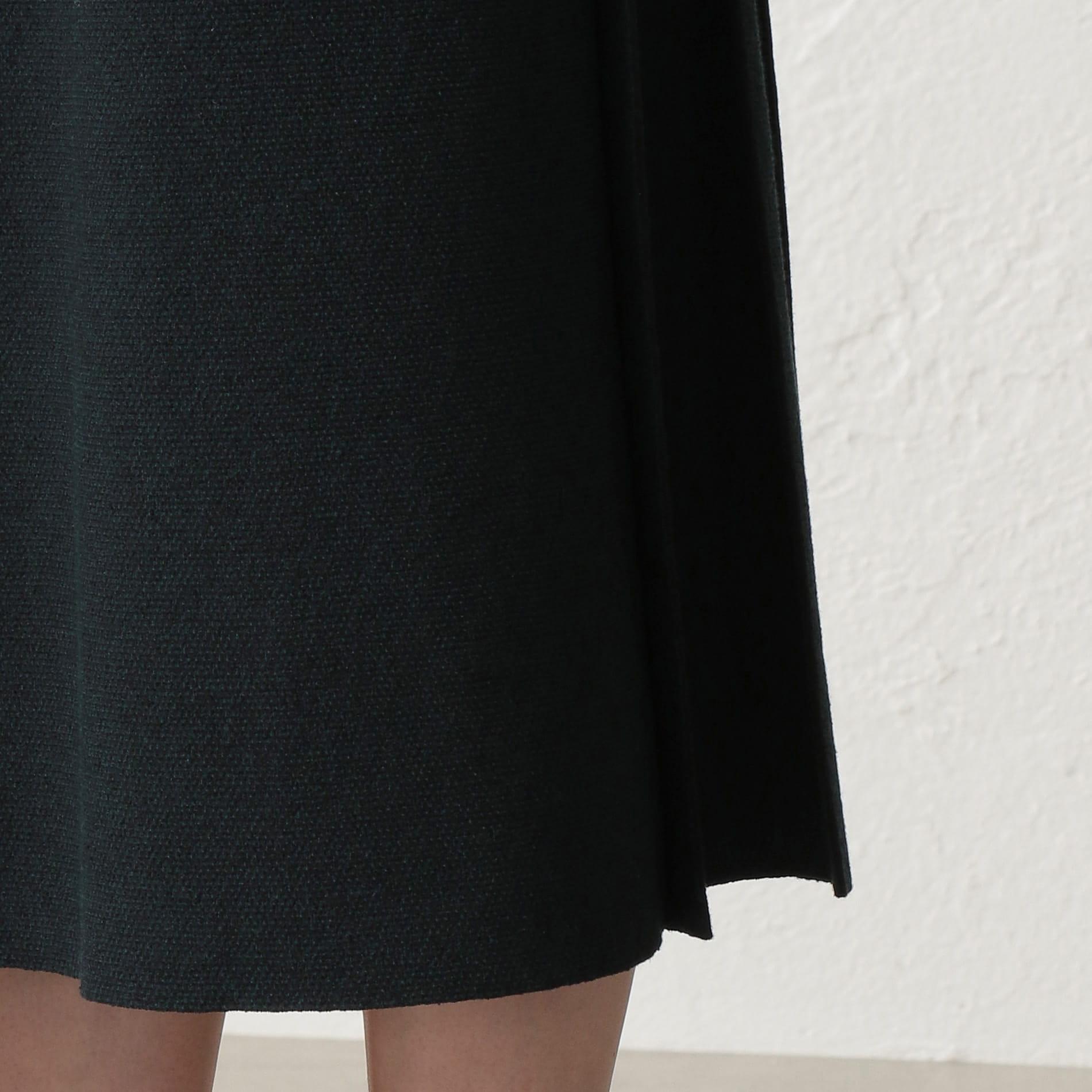 ドライツイードニットスカート