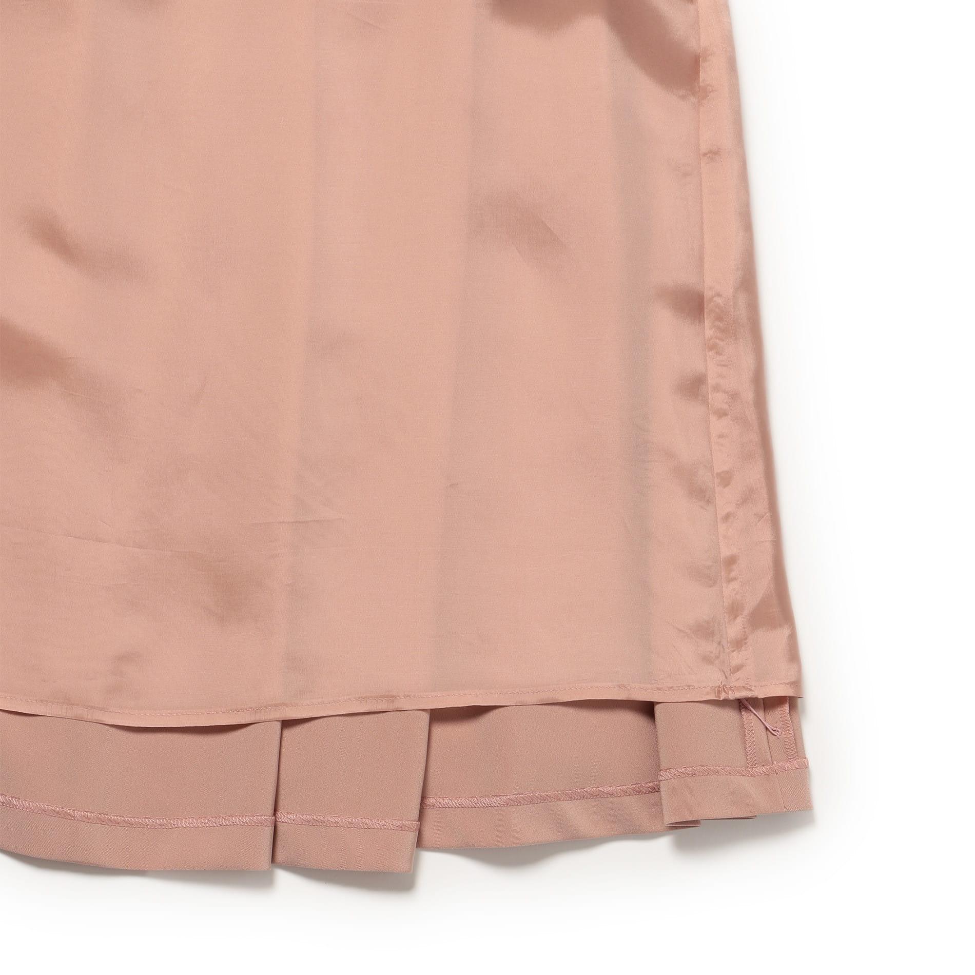 ストレッチサテン スカート