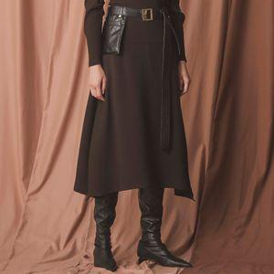 【La maglia】スリットニットスカート