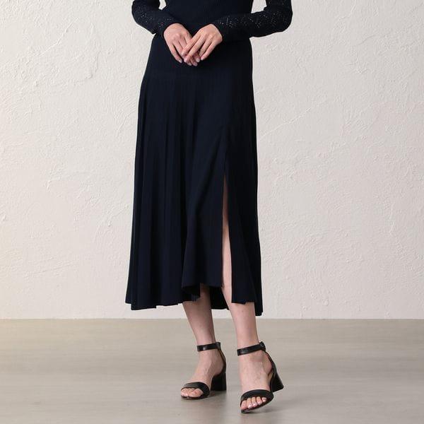 *Marisol10月号掲載* 【La Maglia】モダンスリットスカート