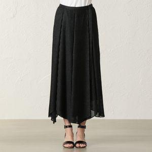 ニットプリーツ スカート