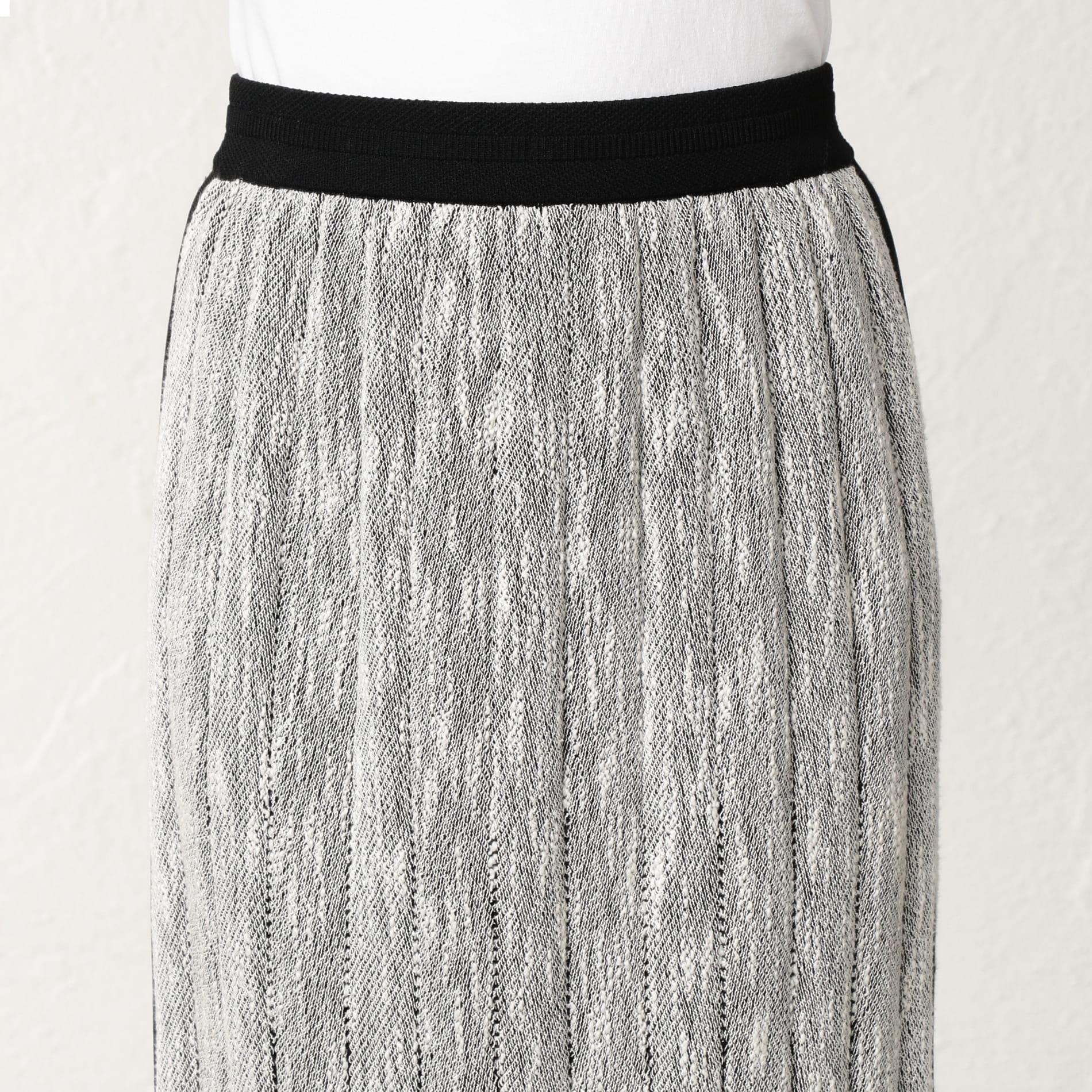 スラブインレイ スカート