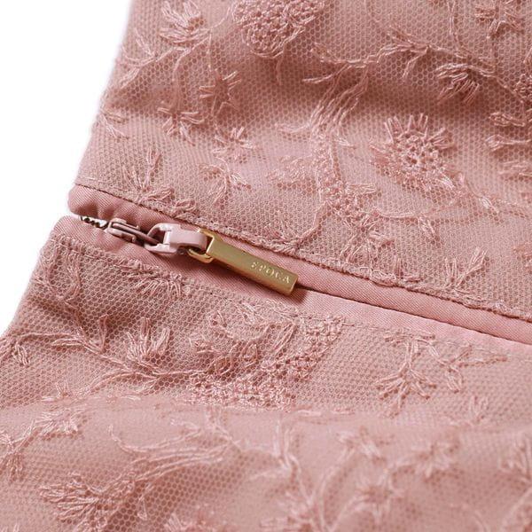 チュールレースフレアスカート