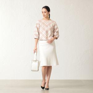 【24 TWENTY FOUR】 マーメードニットスカート