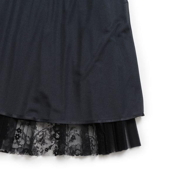 チュールフラワーレース スカート