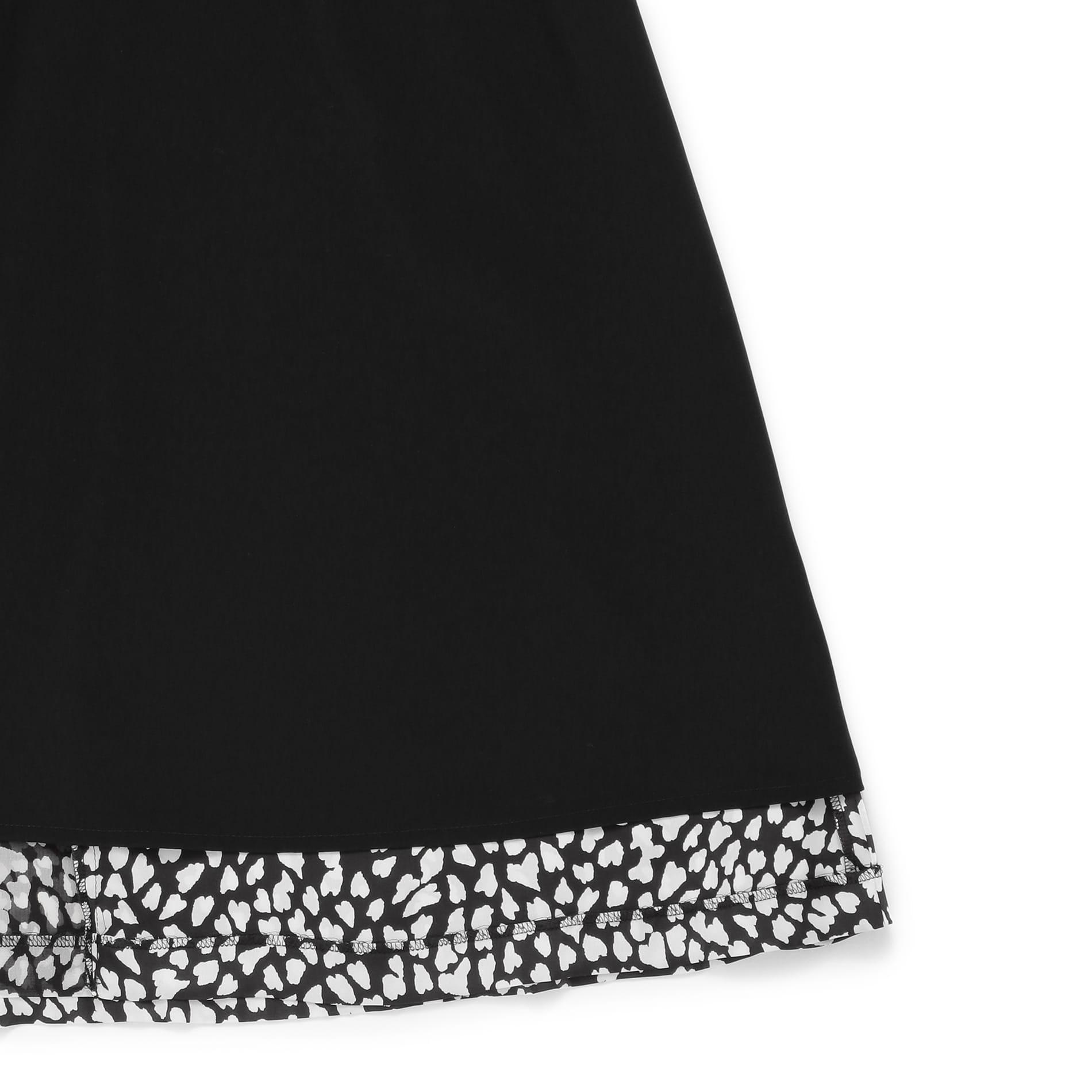 ハートアニマルプリントスカート