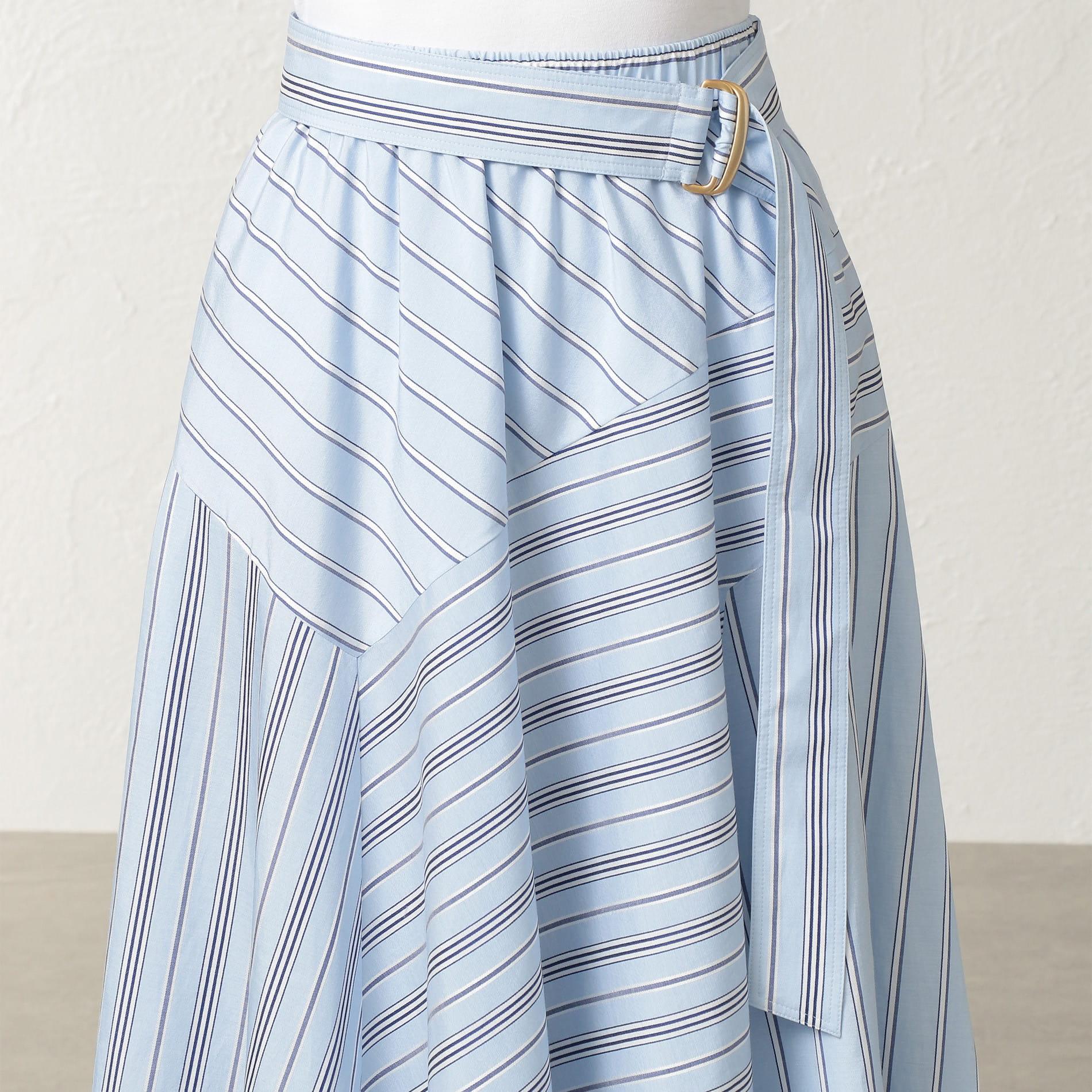 ラスターストライプ スカート