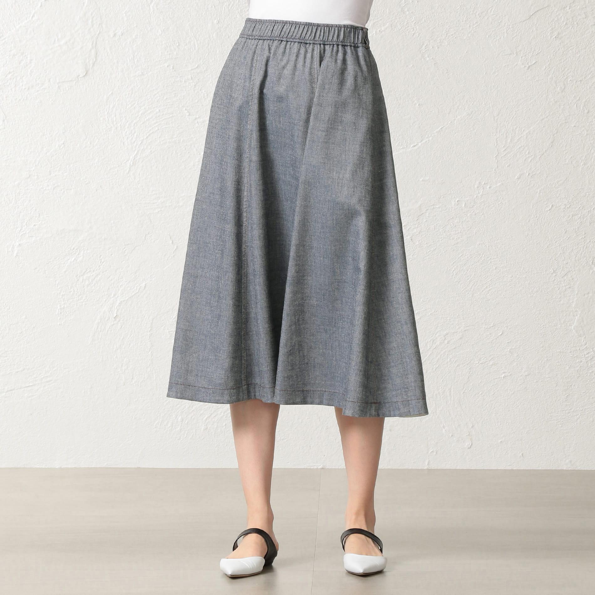 シャンプーリネンツイル スカート