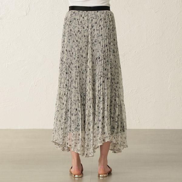 スモールフラワープリントスカート