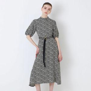 スモールジャカードドレス