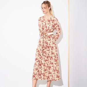 リリープリント ドレス