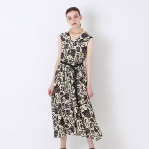 オリエンタルプリント ドレス