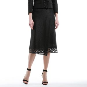 リネンシャイニーツィードスカート