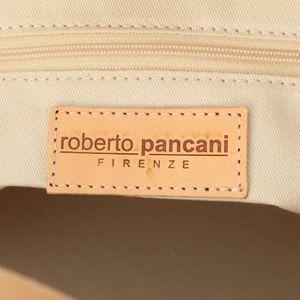 【roberto pancani】ボーダーカゴトートバッグ