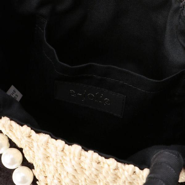 【A-JOLIE】パールサングラスカゴバッグ