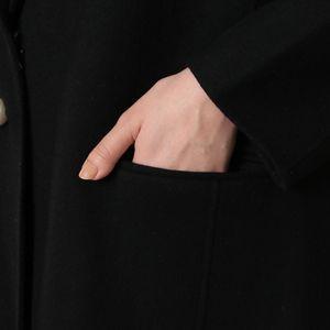 【marmors】パールボタンロングコート