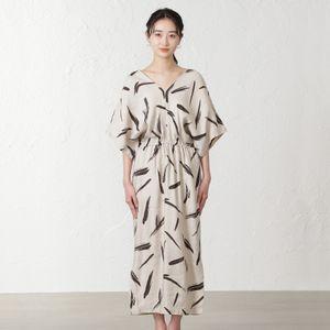 【marmors】プリントドレス