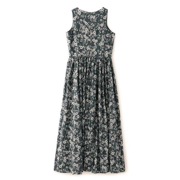 【MARIHA】夏のレディのドレス(フラワープリント)
