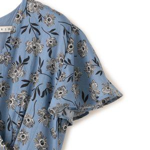 【MARIHA】マドモアゼルのドレス(フラワープリント)