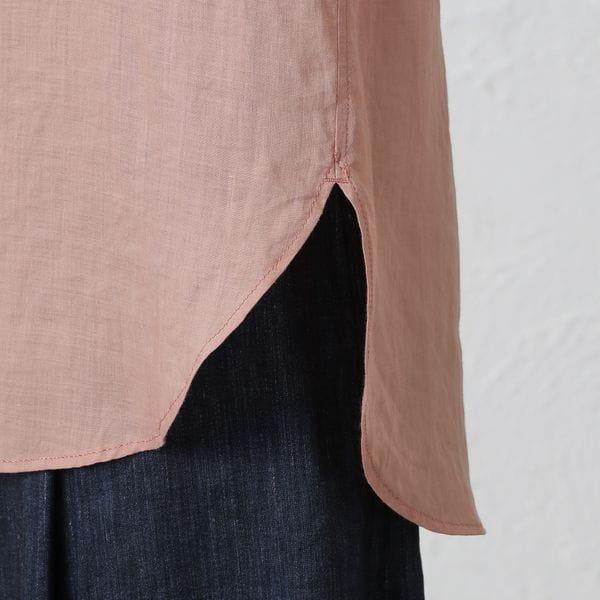 【marmors】リネンシアーシャツ