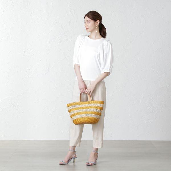 【MIHOKO SAITO】ボリュームスリーブカットソー