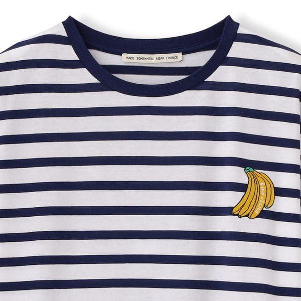 【etre cecile】BANANAボーダーカットソー