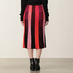 【Diane von Furstenberg】プリーツニットスカート