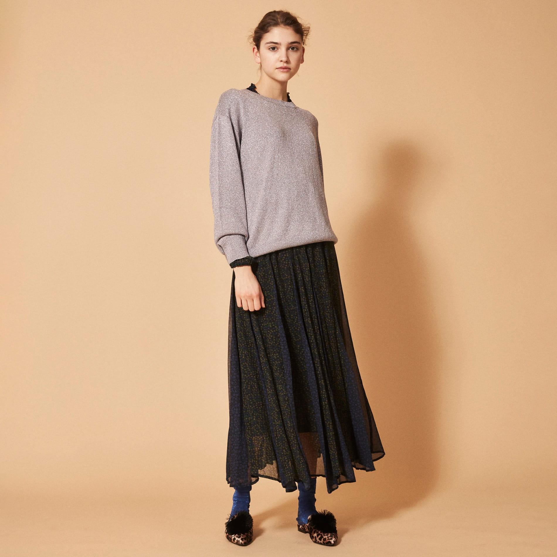 【ne quittez pas】フラワーミックススカート