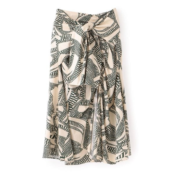 【muller of yoshiokubo】コットンプリントスカート