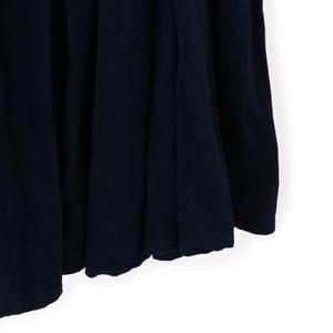 【three dots】ロングギャザースカート
